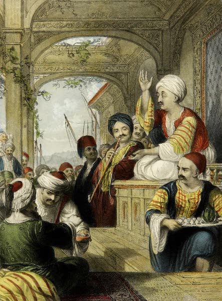 Constantinople and the Scenery of the Seven Churches of Asia Minor Vol. 2 - The Medâk or Eastern Story-Teller (1839)