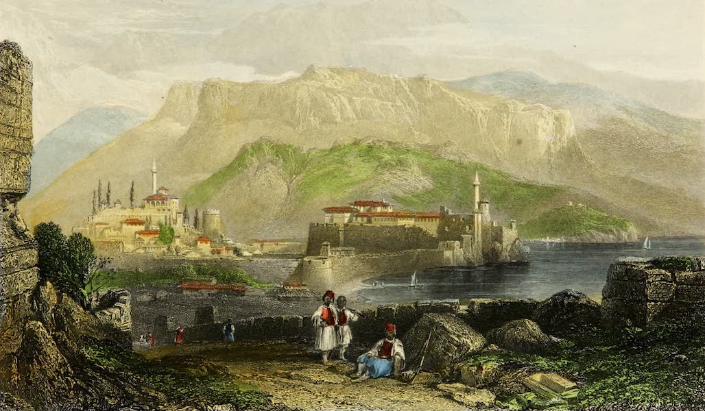 Constantinople and the Scenery of the Seven Churches of Asia Minor Vol. 2 - Joannina, the Capital of Albania (1839)