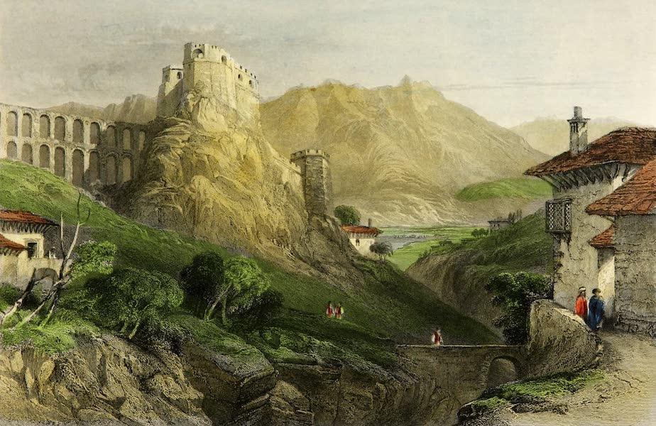 Constantinople and the Scenery of the Seven Churches of Asia Minor Vol. 2 - The Castle of Argyro-Castro, Albania (1839)