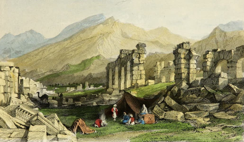 Constantinople and the Scenery of the Seven Churches of Asia Minor Vol. 2 - The Ruins of Laodicea (1839)