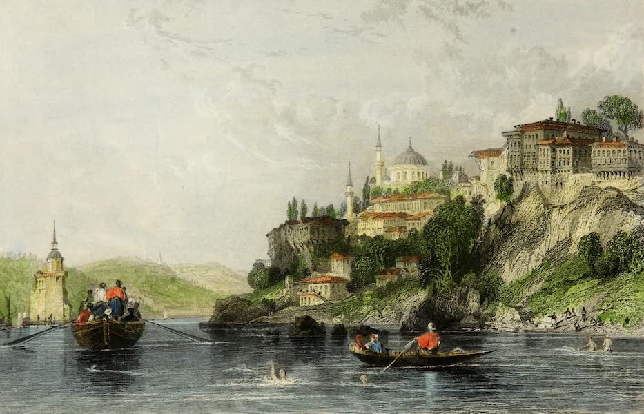 Constantinople and the Scenery of the Seven Churches of Asia Minor Vol. 2 - Scutari-and the Maiden Tower (1839)