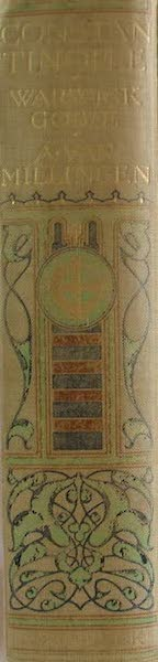 Constantinople Painted and Described - Spine (1906)