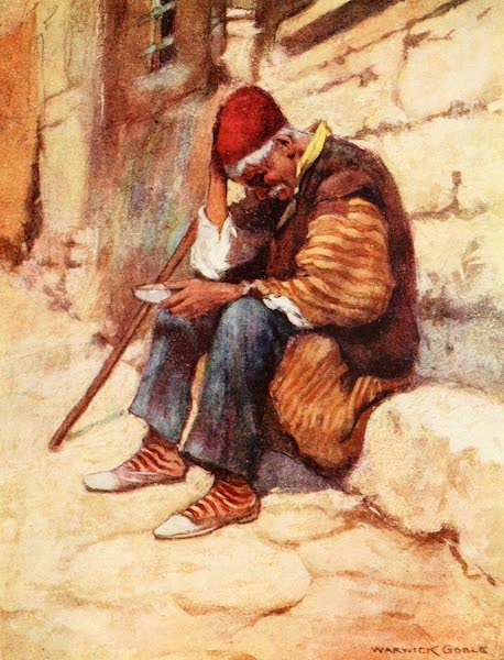 Constantinople Painted and Described - Stamboul Beggar (1906)