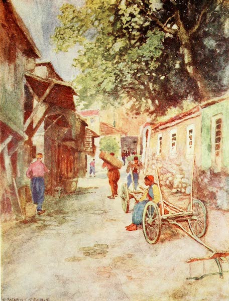 Constantinople Painted and Described - Street Scene, Clay Works (1906)