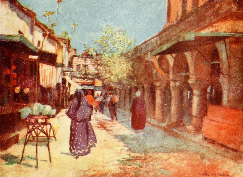 Constantinople Painted and Described - Street Scene, Stamboul (1906)