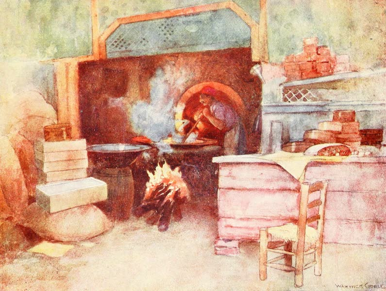 Constantinople Painted and Described - Turkish Delight Factory (1906)