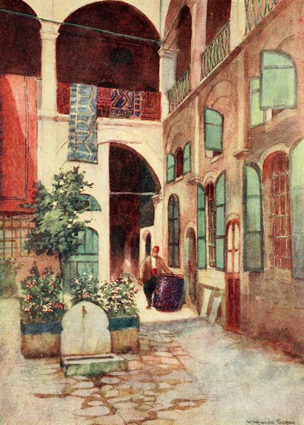Constantinople Painted and Described - Carpet Warehouse (1906)
