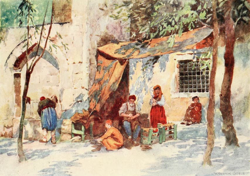 Constantinople Painted and Described - Shoemaker, Stamboul (1906)