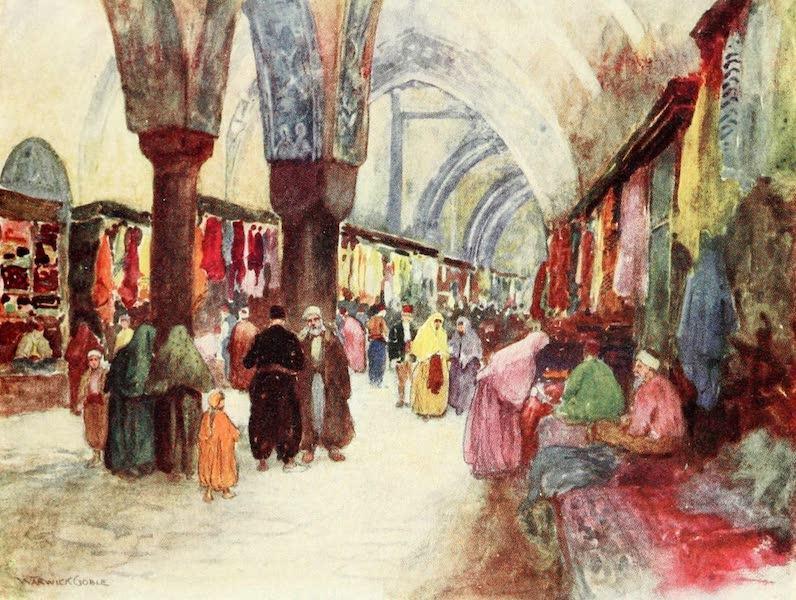Constantinople Painted and Described - Grand Bazaar, Stamboul (1906)
