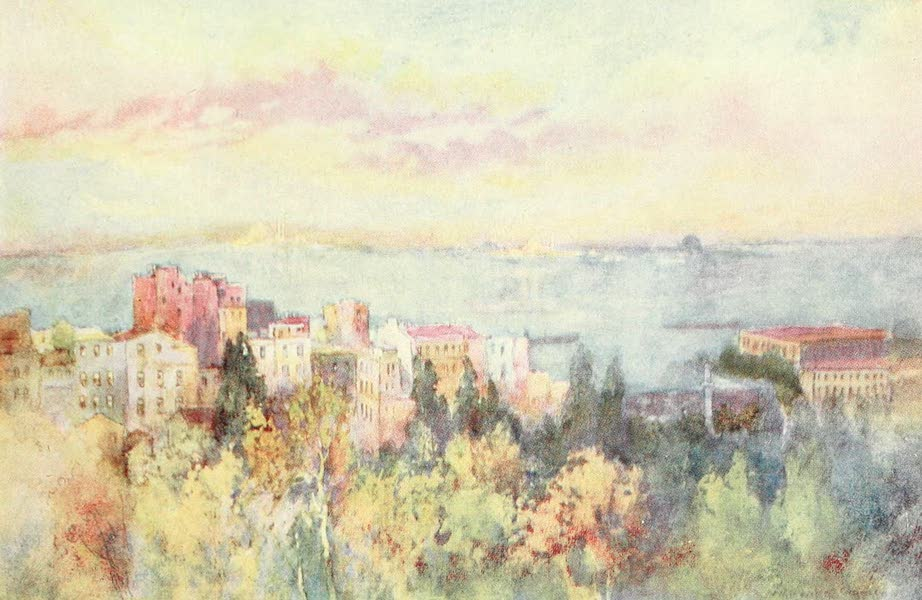 Constantinople Painted and Described - Golden Horn, early Morning (1906)