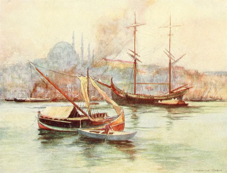 Constantinople Painted and Described - Golden Horn (1906)