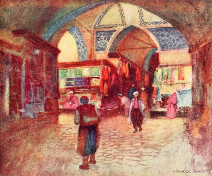 Constantinople Painted and Described - In the Grand Bazaar (1906)
