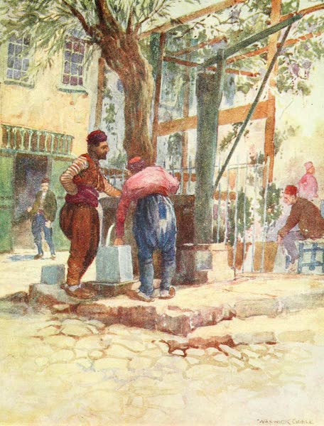 Constantinople Painted and Described - Turkish Well, Stamboul (1906)