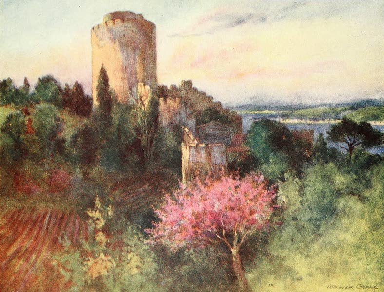 Constantinople Painted and Described - Roumeli Hissar (1906)
