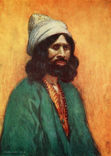 Constantinople Painted and Described - A Howling Dervish (1906)