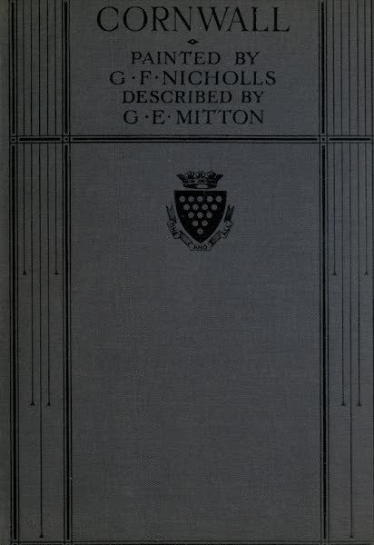 Cornwall Painted and Described - Front Cover (1915)