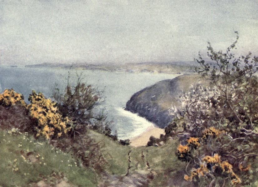 Cornwall Painted and Described - Carbis Bay (1915)