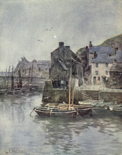 Cornwall Painted and Described - At Polperro (1915)