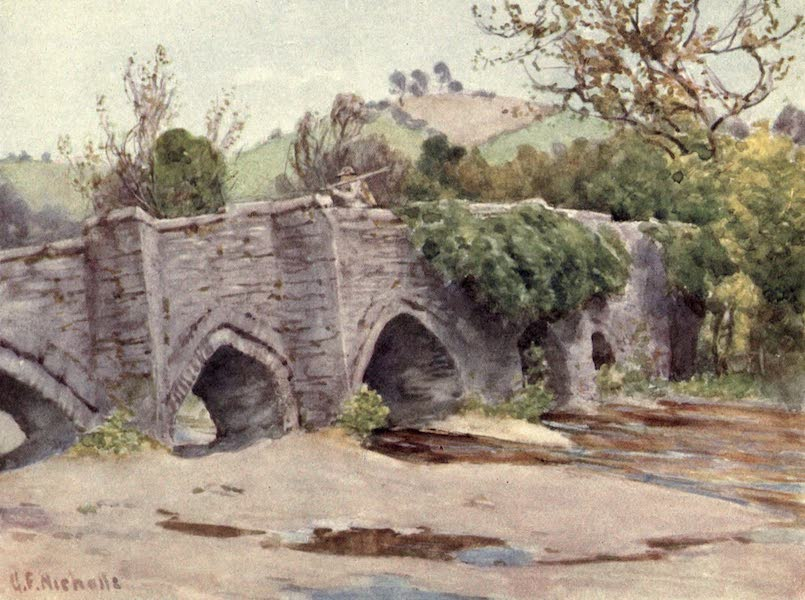Cornwall Painted and Described - Old Bridge at Lostwithiel (1915)