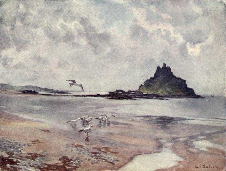 Cornwall Painted and Described - St. Michael's Mount (1915)