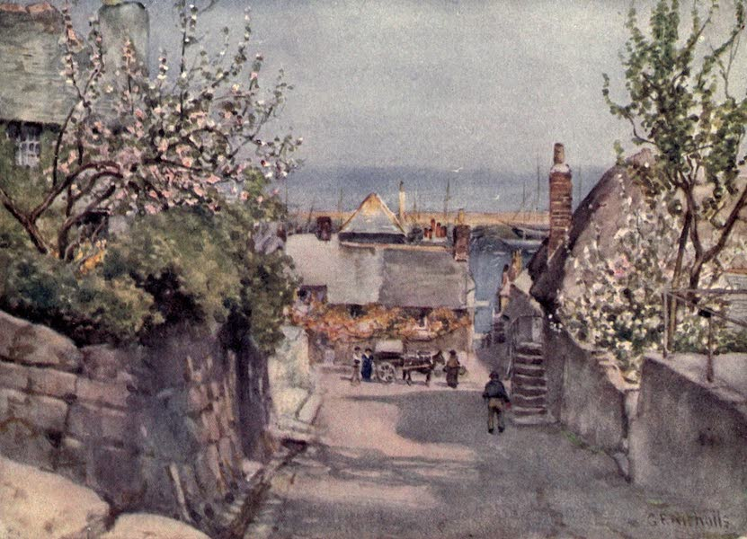 Cornwall Painted and Described - Newlyn (1915)