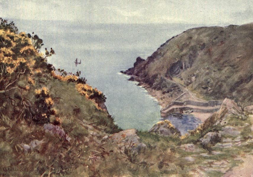 Cornwall Painted and Described - Lamorna Cove (1915)