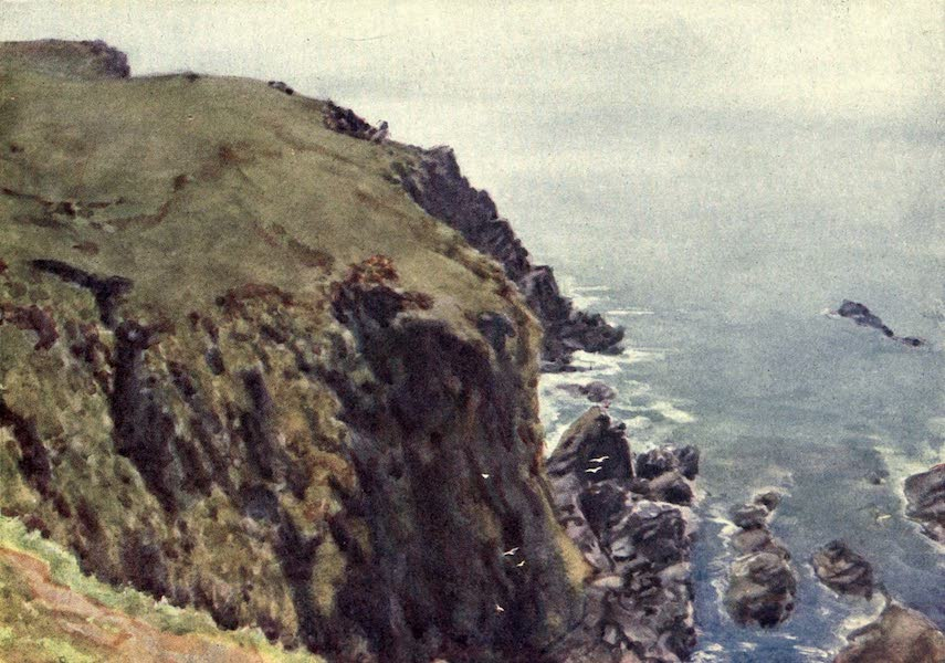 Cornwall Painted and Described - Caerthilian Cove (1915)