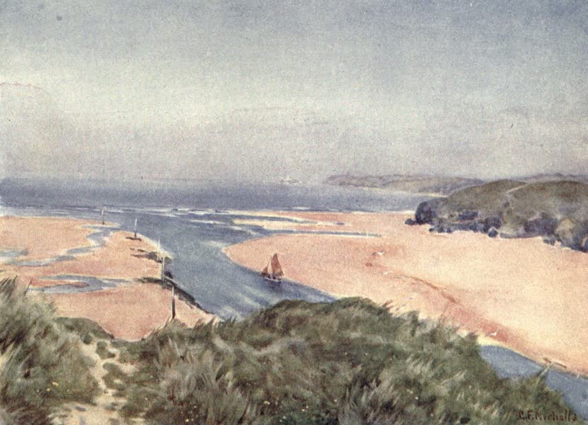 Cornwall Painted and Described - From Lelant to Godrevy (1915)