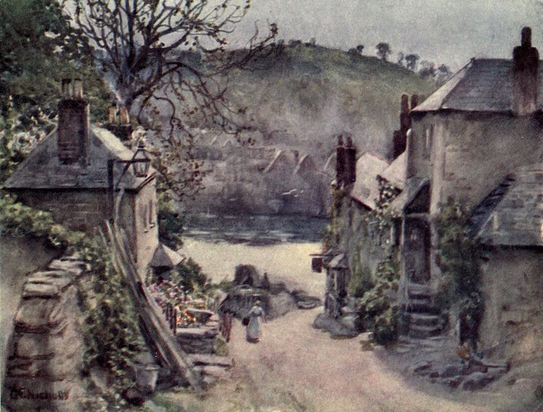 Cornwall Painted and Described - Looe (1915)