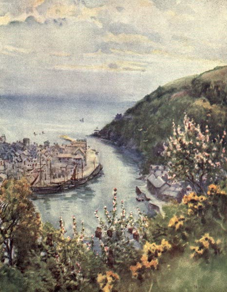 Cornwall Painted and Described - Flushing from Falmouth (1915)