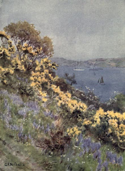 Cornwall Painted and Described - At Newlyn (1915)