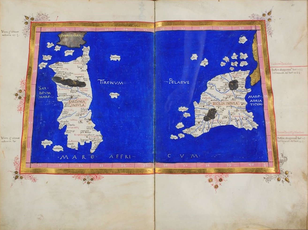 Ptolemy's Map of Europe - VII
