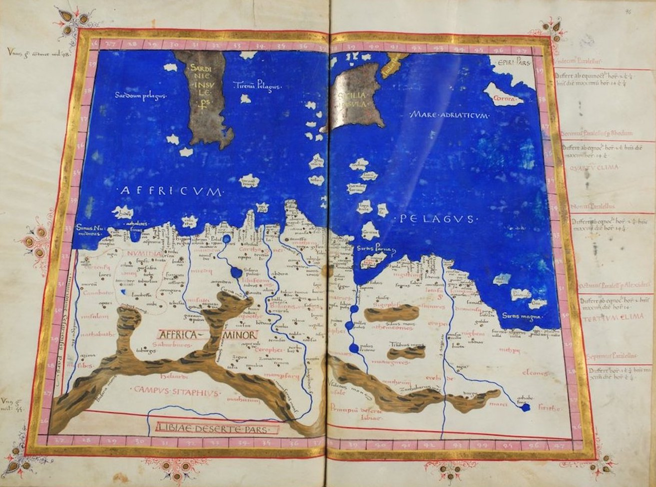 Ptolemy's Map of Africa - I