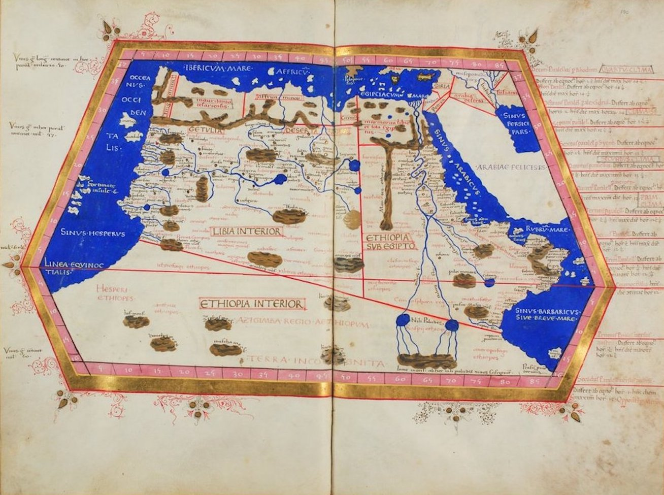 Ptolemy's Map of Africa - III