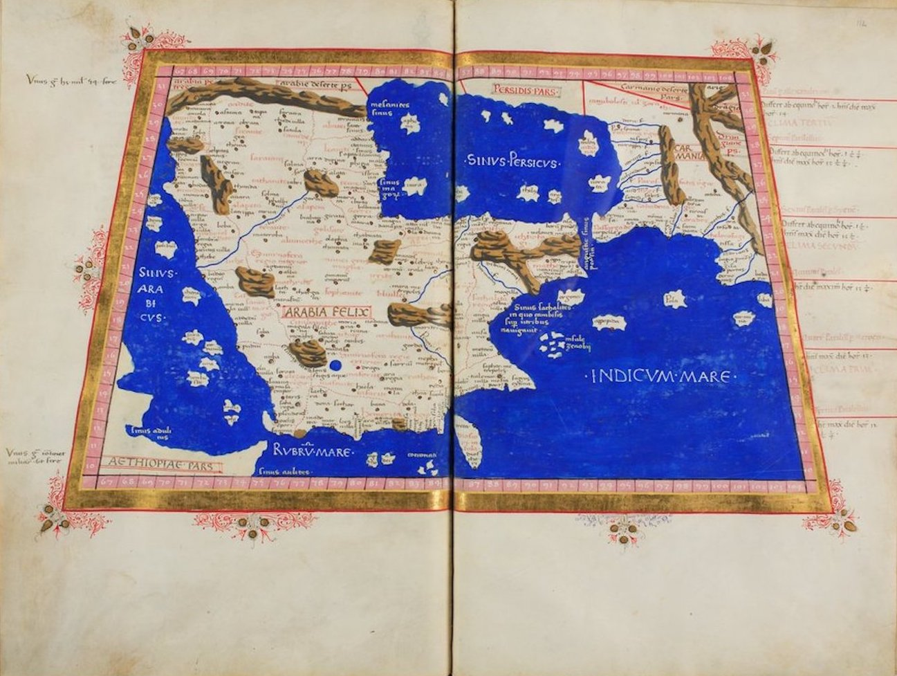 Ptolemy's Map of Asia - VI