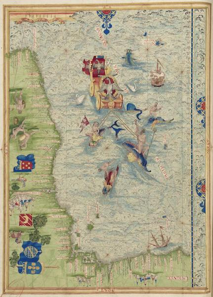 Cosmographie Universelle - Afrique occidentale [II] (1555)