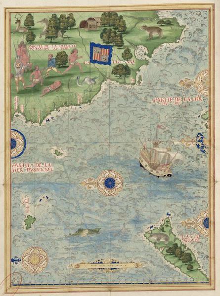Cosmographie Universelle - Defaite de Databalipa (1555)