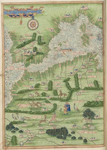 Cosmographie Universelle - Europe meridionale et Afrique du nord-ouest [I] (1555)
