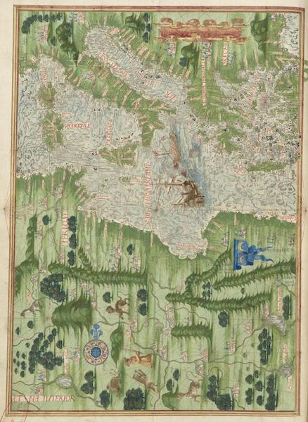 Cosmographie Universelle - Europe meridionale et Afrique du nord-ouest [II] (1555)
