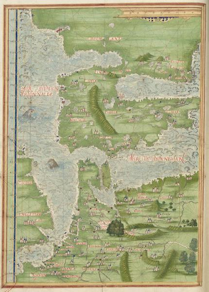 Cosmographie Universelle - Europe septentrionale et Groenland [II] (1555)