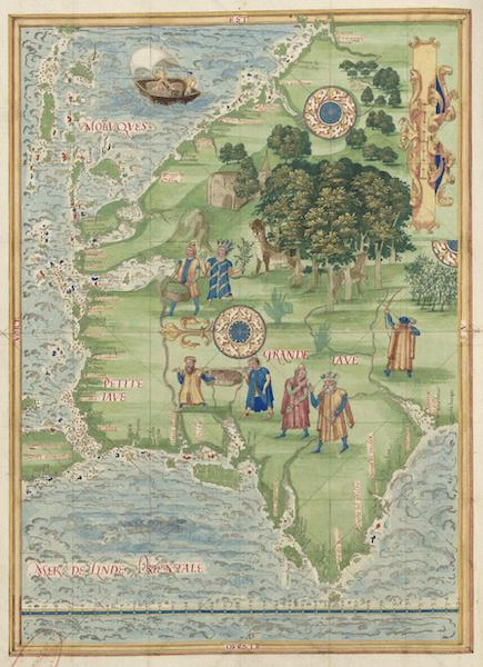 Cosmographie Universelle - Grande et Petite Jave [I] (1555)