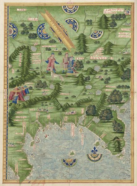 Cosmographie Universelle - Inde orientale (1555)
