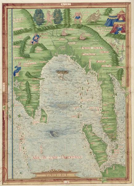 Cosmographie Universelle - Mer de l'Inde orientale [II] (1555)