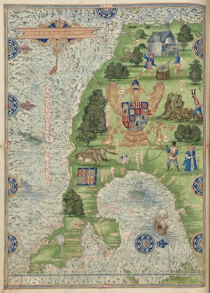 Cosmographie Universelle - Neuve Espagne [I] (1555)