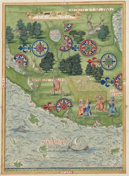 Cosmographie Universelle - Neuve Espagne [II] (1555)