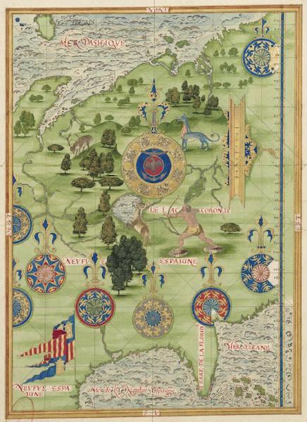 Cosmographie Universelle - Neuve Espagne [III] (1555)