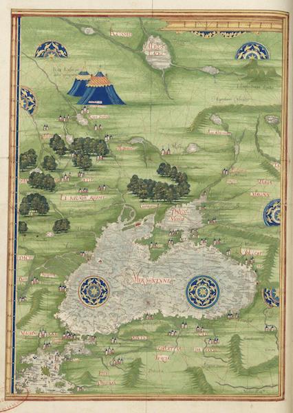 Cosmographie Universelle - Pourtour de la mer noire [I] (1555)
