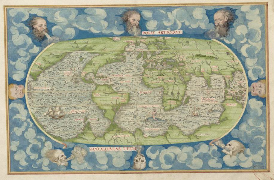 Cosmographie Universelle - Quatrieme Projection (1555)