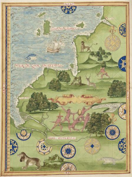Cosmographie Universelle - Terre australe [II] (1555)