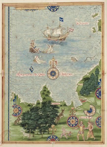Cosmographie Universelle - Terre australe [III] (1555)